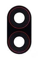 Стекло камеры для телефона Xiaomi Pocophone F1 (Черное)