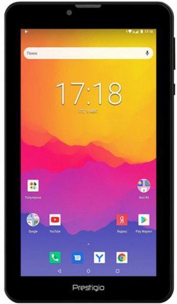 Планшет 7 дюймов с функцией телефона на 2 сим карты 1/16Gb Prestigio Wize 4117 3g
