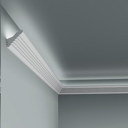 LED профілі Європласт 6.50.701,ліпний декор з поліуретану.