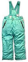 Детский полукомбинезон для девочки Верхняя одежда для девочек Pezzo D'oro Италия S04K1041 Зеленый