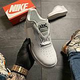 Женские кроссовки Nike Air Force Low ACW White, Женские Найк Аир Форс Лоу Кожаные Белые, фото 2