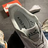 Женские кроссовки Nike Air Force Low ACW White, Женские Найк Аир Форс Лоу Кожаные Белые, фото 6