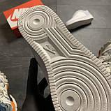Женские кроссовки Nike Air Force Low ACW White, Женские Найк Аир Форс Лоу Кожаные Белые, фото 5