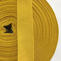 Резинка тканая 030мм цв желтый (уп 25м) 2822 Укр-з