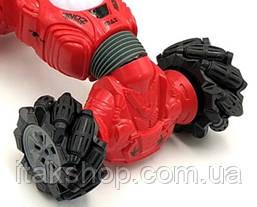 Трюковая машинка перевертыш Climber Champions 2766 (браслет и пульт) Красная, фото 3