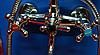 Смеситель для ванны Zerix DFR-A605 двухвентильный с длинным изливом, цвет хром, Смеситель Зерикс, фото 4