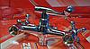 Смеситель для ванны Zerix DFR-A605 двухвентильный с длинным изливом, цвет хром, Смеситель Зерикс, фото 5