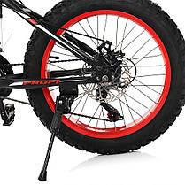 ВЕЛОСИПЕД 20 Д. EB20POWER 1.0 S20.1 Чорний, фото 2