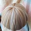 Парик боб-каре прямое термоволос пшеничный блонд 2724t-24H613, фото 7