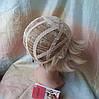 Парик боб-каре прямое термоволос пшеничный блонд 2724t-24H613, фото 8