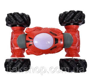 Трюковая машинка перевертыш Climber Champions 2766 (браслет и пульт) Красная