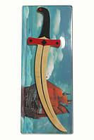 Игрушечное оружие Сабля HEGA Джек-Воробей, фото 1