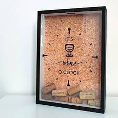 Копилка для винных пробок 31х22х4см It`s wine o`clock
