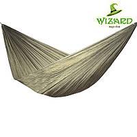 Портативный туристический гамак (ткань парашютка, цвет олива)