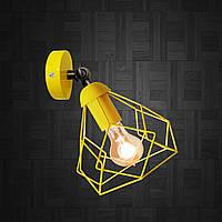 """Настенный светильник, бра поворотное, потолочная лампа  """"RUBY/LS"""" желтый, фото 1"""