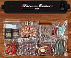 Вакууматор упаковщик еды с пакетами Wi-simple LP-11 вакуумный упаковщик для дома, фото 4