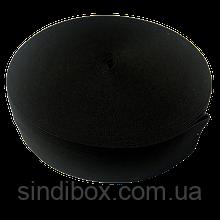 Широкая бельевая резинка для одежды Sindtex черная 4 см х 22,5 м (СИНДТЕКС-0070)
