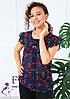 "Блузка шифоновая ""Сьюзи - вишня""| Распродажа модели, фото 5"