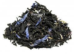 Чай черный с добавками Эрл Грей голубой цветок 100