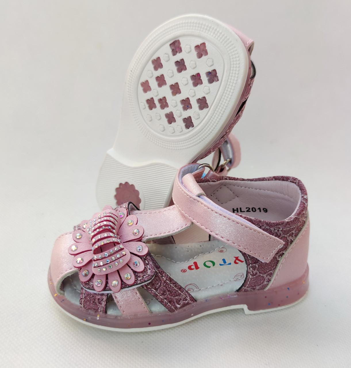 Детские босоножки сандалии для девочки на девочек Y.Top HL2019-3