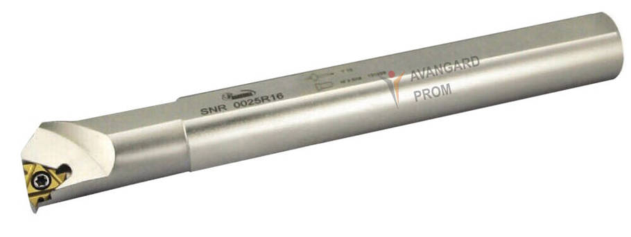 Резец HANSHIBA резьбовый внутренний SNR0016M16, фото 2