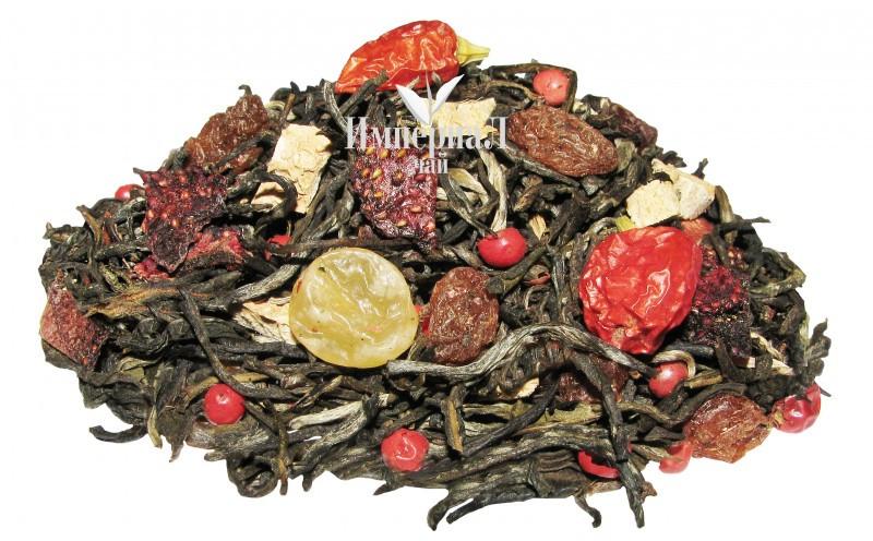 Зеленый чай с добавками Тепло любви