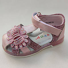 Детские сандалии сандали босоножки для девочки розовый Y.TOP 23р 14см
