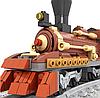 Детский конструктор Brik Station Поезд 483 детали, фото 2