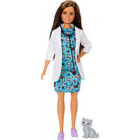 Кукла Барби Ветеринар Barbie Careers Pet Vet GJL63