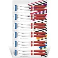 Набор ножей tramontina cor&cor для томатов 5 2 шт. оранжевая ручка (23462/275)