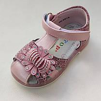 Детские сандалии сандали босоножки для девочки розовый Y.TOP 25р 15.5см, фото 3