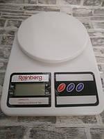 Весы кухонные Rainberg RB-400  с цифровым дисплеем Белые