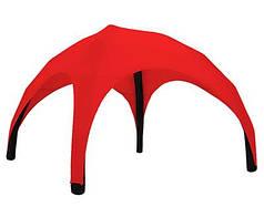 Надувной шатер 3,5х3,5х4 Красный