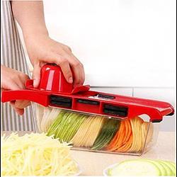 Мультислайсер Овощерезка для овощей и фруктов Slicer 6 in 1 c контейнером