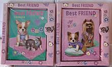 """Блокнот A-6 № 4023   """"Best Friend"""" 60л в коробке"""