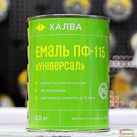 ТМ Халва Емаль ПФ-115 Универсал зеленая 2,5 л.