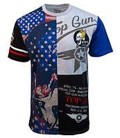 "Футболка Top Gun ""Skull Mask"" Tee TGM1807 (Cream), фото 1"
