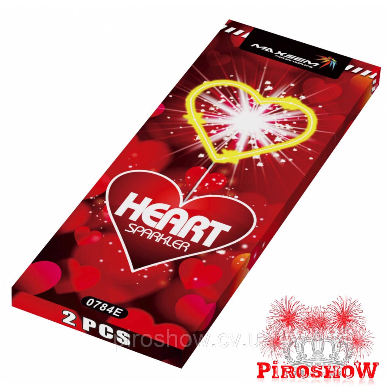 Бенгальские огни HEART SPARKLER