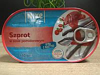 Шпроты в томатном соусе  Szprot NIXE (Польша) 170 г