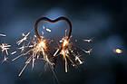 Бенгальские огни HEART SPARKLER, фото 2