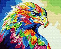 Картина по номерам Радужный орел Brushme GX30901