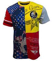 "Футболка Top Gun ""Skull Mask"" Tee TGM1807 (Red)"