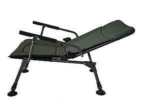 Кресло карповое Vario Carp Мягкое Кресло для рыбалки, рыболовное кресло до 120кг (2421)