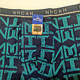 Труси чоловічі ІНСАН ієрогліф бірюзовий 54 розмір, фото 2