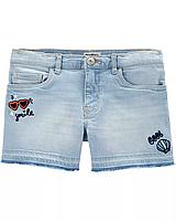 """Детские джинсовые шорты для девочки OshKosh """"COOL"""" 5 л./107-114 см"""