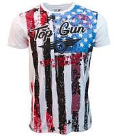 Футболка Топ Ган Top Gun Americana Tee TGM1812 (White)