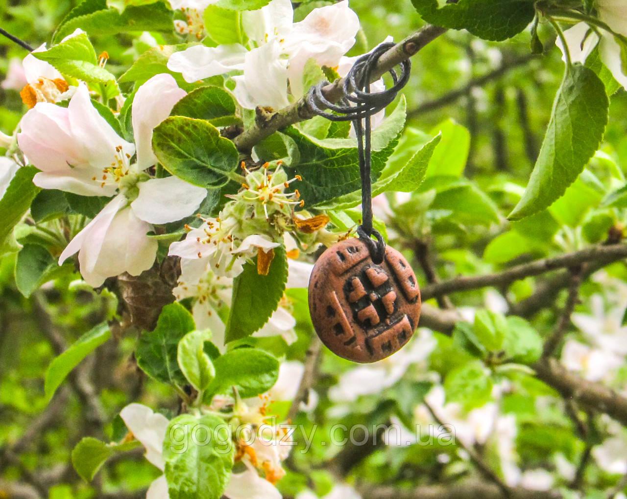 Кулон Квітка тонований