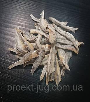 Анчоус солёный  солено - сушёный  - закуска к пиву(рыбный снек) 1  кг