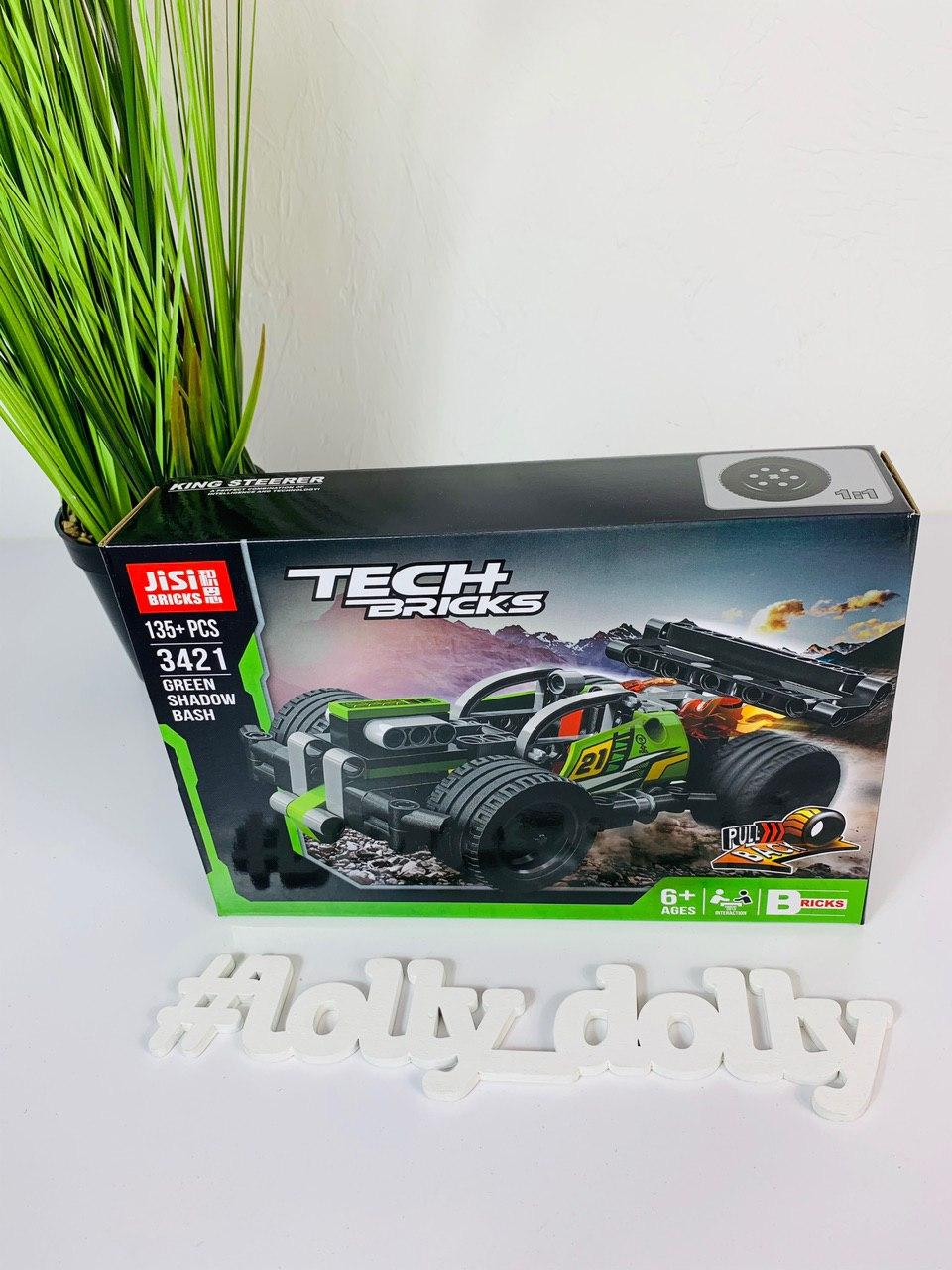 Конструктор Decool 3421 Green Shadow Bash