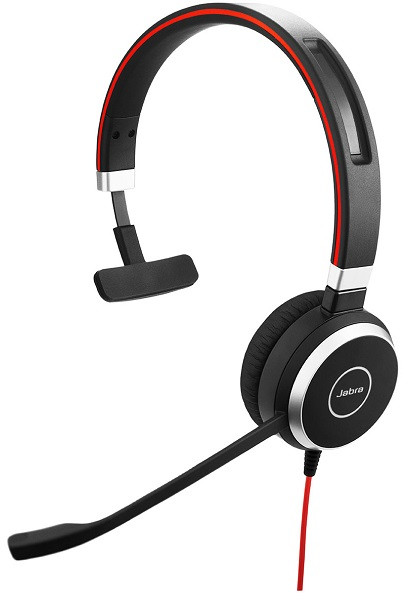 Проводная аудио гарнитура Jabra EVOLVE 40 MS Mono (USB / 3.5мм)